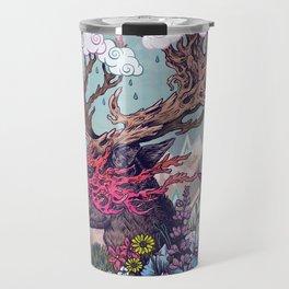Journeying Spirit (deer) Travel Mug