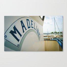 Madeline-color  Canvas Print
