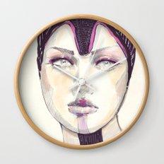 Fashion illustration  Wall Clock