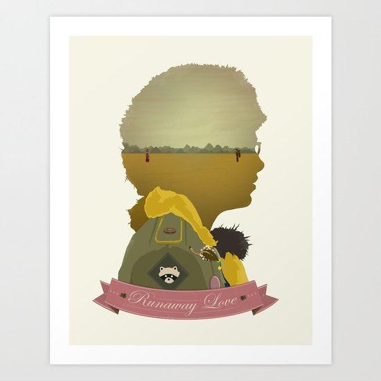 Runaway Love Art Print