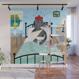 Sick as a Dog Wall Mural