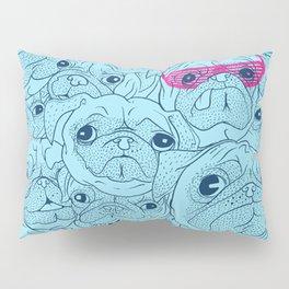 Pug jumble Pillow Sham