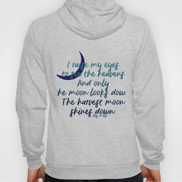 I raise my eyes to see the heavens - Les Miserables Hoody
