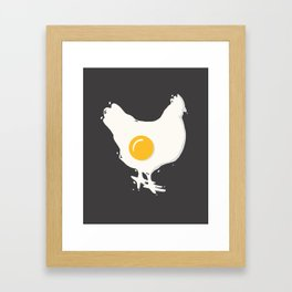 Fried Framed Art Print