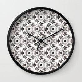 Dreamy Flowers Wall Clock