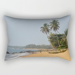 Beaches of Cameroon Rectangular Pillow