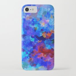 Abstract Seascape Painting iPhone Case