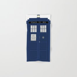 Doctor Who's Tardis Hand & Bath Towel