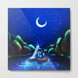 Starry Night Aladdin Metal Print