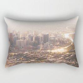 Autumn Cityscape Rectangular Pillow