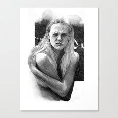 Grimace Canvas Print