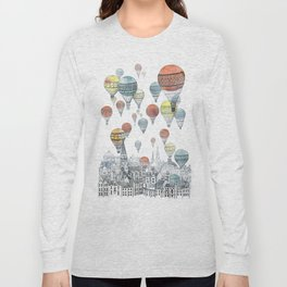 Voyages over Edinburgh Long Sleeve T-shirt