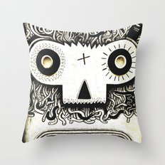 Wormface 2 Throw Pillow