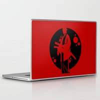 samurai Laptop & iPad Skins featuring Samurai by Artistic Dyslexia