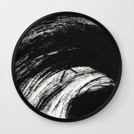 Black an White Wall Clock