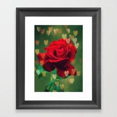 Rose Love Framed Art Print