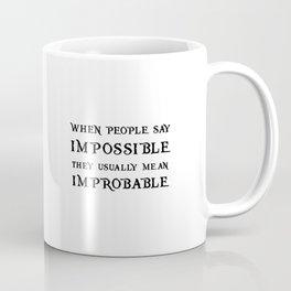 Improbable - Nikolai WHITE Coffee Mug