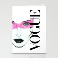 vogue Stationery Cards featuring Vogue by Macor