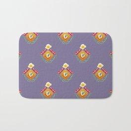 Waffles and Bacon (Grape Juice Purple) Bath Mat