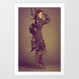Beauty Obsolete Art Print