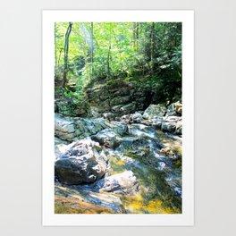 That Rocky River Art Print
