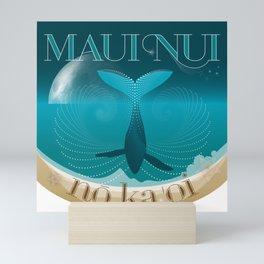 Maui Nui no ka 'oi Mini Art Print