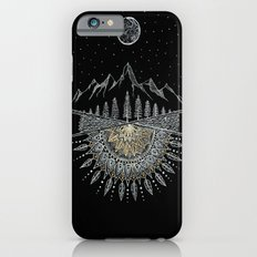 Moon and Stars Night Sky Mountain Range Arrow Mandala Slim Case iPhone 6s