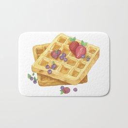 Waffles Bath Mat