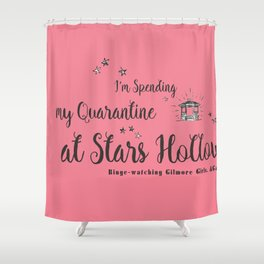 At Stars Hollow-Gilmore Girls. Shower Curtain