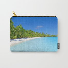 Palm Tree Tropical Island Paradise Carry-All Pouch