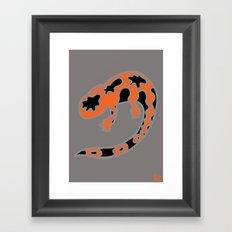 Gila Monster Framed Art Print