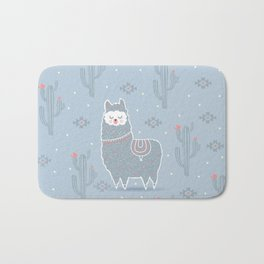 Alpaca winter Bath Mat