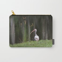 Immature White Ibis Carry-All Pouch