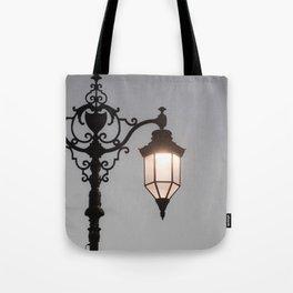 Victorian Lantern Tote Bag