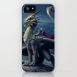 He and His Dragon iPhone Case