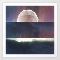 Moon Machine Art Print