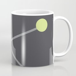 Mid Century Modern Atomic Age Pattern Coffee Mug