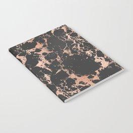 Marble Black Rose Gold - DNA Notebook