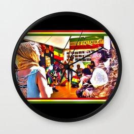 House Of Rastafari / Rototom Sunsplash 2011 Wall Clock