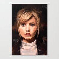 lucy Canvas Prints featuring Lucy by Wisesnail