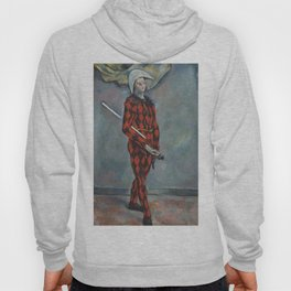 Harlequin by Paul Cézanne. For fine art lovers. Hoody