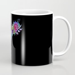 Gretsch guitar head - Music - Rock and roll - Psychedelic - Colorful Coffee Mug
