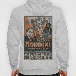 Houdini - vintage poster, spirits Hoody