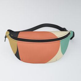 Mid Century Modern Geometric Abstract 235 Fanny Pack