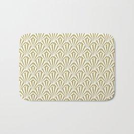 Gold Glitter shells Bath Mat