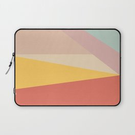 Retro Abstract Geometric Laptop Sleeve