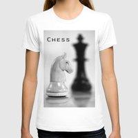 chess T-shirts featuring Chess by Falko Follert Art-FF77
