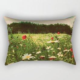 Poppies in Pilling Rectangular Pillow