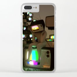 RE-PLAY Clear iPhone Case
