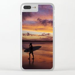 One for the road Clear iPhone Case